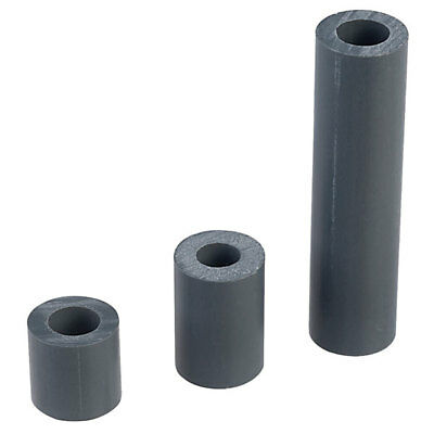 Essentra SS6-4 Round M3 Through Hole 12.7mm Spacer PVC - Pack of 25