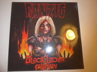 Danzig - black Laden Crown - LP Orange vinyl - LIMITED 1000 copies