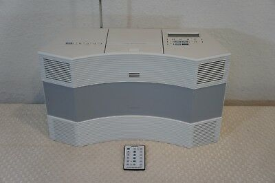 US-Bose Acoustic Wave CD Changer Remote Control Wave Radio//CD CD-3000 White SEA2