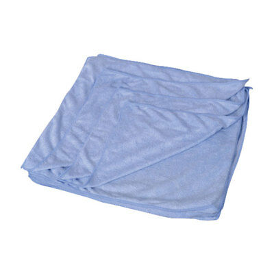 Andarta 34-017 Microfibre Cleaning Cloth 40 x 40cm - Blue - Pack Of 10