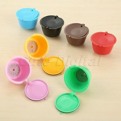 Refillable Nescafe Filter Baskets Dolce Gusto Coffee Capsule 7 Colors i Cafilas