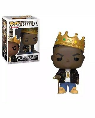 PREORDER Pop! Rocks NOTORIOUS BIG with Crown #77 Vinyl Biggie B.I.G.