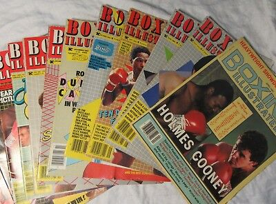 BOXING ILLUSTRATED RINGSIDE NEWS Magazine - Single Issues 1982-1996