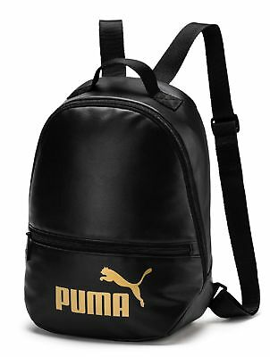 28ea883fb509 PUMA WMN Core Up Archive Backpack Rucksack Tasche Puma Black Schwarz Gold  Neu