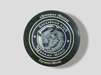KHL Official Hockey Puck Dynamo-Minsk