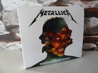 METALLICA : HARDWIRED TO SELF DESTRUCT 2 X CD ALBUM fast/free posting.