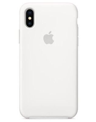 WEISS WHITE GENUINE ORIGINAL OFFICIAL Apple Silicone Case iPhone X RETAIL BOX