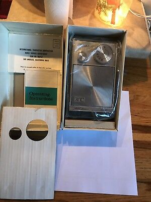 Vintage AITC AM / FM Transistor Radio NEW NEVER OUT OF BOX MODEL FP-21 FAST SHIP