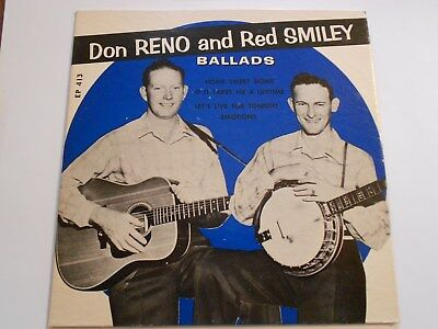 Don Reno & Red Smiley-Ballads King Ep 413 COVER ONLY VG+