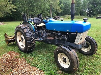 NEW HOLLAND 3930 Ford tractor 720 hours, turbocharged 52 HP on