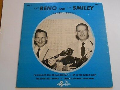 Don Reno & Red Smiley-Sacred Songs King KEP 318 COVER ONLY VG+