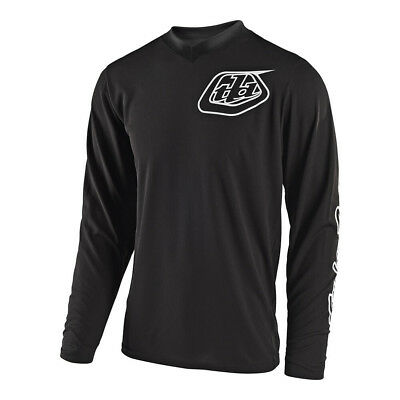 Troy Lee Designs GP Mono Mens MX Offroad Jersey Black