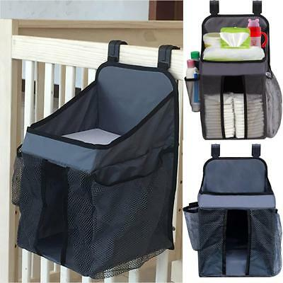 Large Diapers Organizer Baby Bed Hanging Bag Holder Portable Nursery Storage Bag
