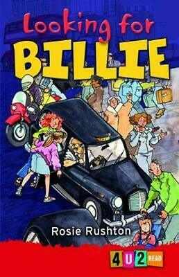 Looking for Billie 4u2read by Rosie Rushton Paperback Book The Cheap Fast Free