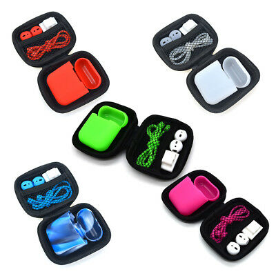 Soft Anti Lost Case Cover Bag Strap Holder For Safety Airpods Earpods Earbuds