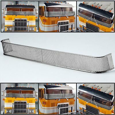 Metal Front Window Mesh Protective Net For 1/14 TAMIYA Globe Liner RC Truck Car