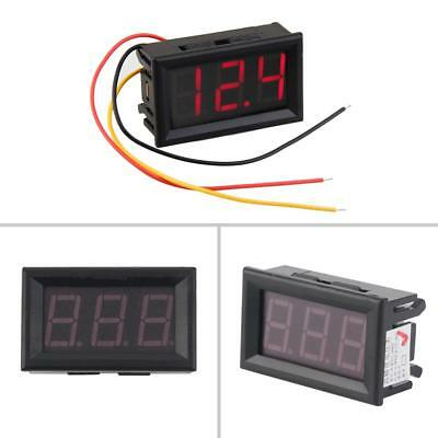 4/3 Digital LED Blue Tachometer 1 x Digital Voltmeter usfeul DI
