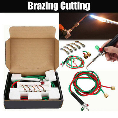 Mini Jewelry Jewelers Micro Mini Gas Little Torch Welding Soldering Kit 5 Tips