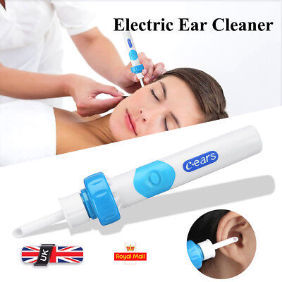 Electric Cordless Vacuum Ear Cleaner Cleaning Wax Remover Painless Safety Tool