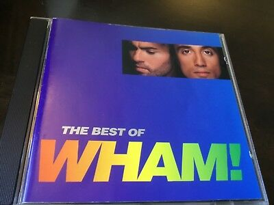 The Best Of Wham - Greatest Hits Cd - George Michael - Last Christmas / Bad Boys