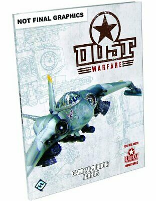 Dust Tactics Dust Warefare Campaign Book Icarus by Chambers, Andy Book The Cheap