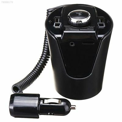 Cup Charger Cup Bluetooth FM Transmitter Car MP3 Player AUX Input Car Handsfree