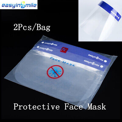 Dental Full Face Shield 1 Frame with 10 Pcs Detachable Protective  Masks VAT