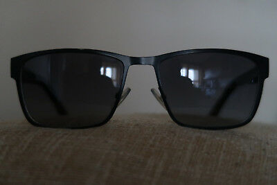 a439f343f4 HUGO BOSS 0561 S Sunglasses Blue Matt Black Frames A Festival Classic In  Ex-Cond