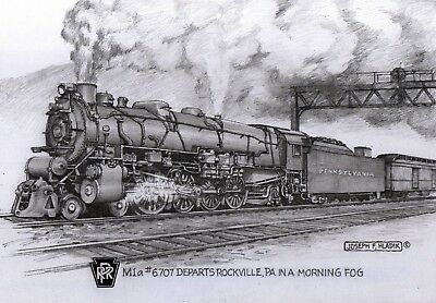Train Notecards,Historic Trains,Steam Engines, Diesels,Railroad collectibles
