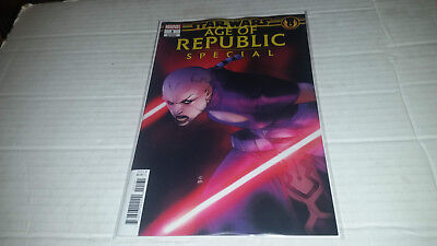Star Wars Age of Republic Special # 1 (2019, Marvel) 1st Print Variant