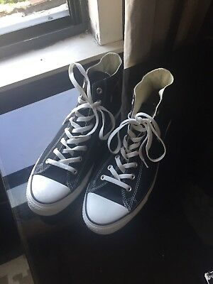 309ae7d95045 Converse Chuck Taylor All Star 70 High Top Sneakers shoes 153830C Black  size 13