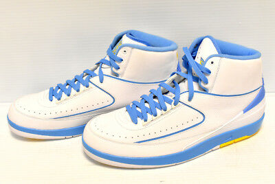 competitive price 67a34 1427a 2018 Nike Air Jordan 2 II Retro Melo White Blue Size 14. 385475-122