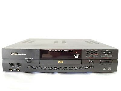 Cavs HDV-201A Platinum DVD VCD CD MP3 CD-R CD-RW Decoder Karaoke Player Tested