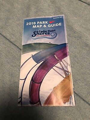 2018  Cedar Point Shores Waterpark Park Map And Guide