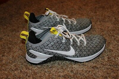 de6a0cc1965 Mens Nike Metcon 4 X Shoes White Black Yellow Size 10  130 NIB AO2806 107
