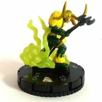 Heroclix Marvel Avengers Chaos War #042 LOKI Super Rare with card