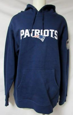 5032b1fdb04f New England Patriots Womens Size Medium Brunette  48 Hoodie Sweatshirt A1  1276