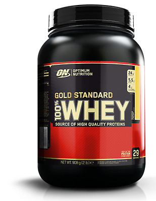 Optimum Nutrition Gold Standard 100 Whey Protein ON 2lb All Flavours FREE P&P