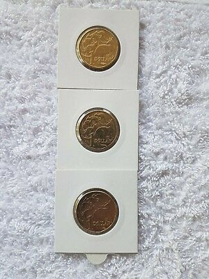 2019 Australia's One Dollar Discovery Coins in Holder UNC set A,U,S Privy Mark