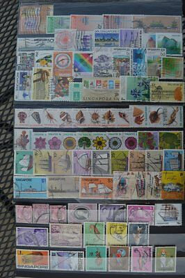 Asia Singapore Stamps Collection #1 (C017Singapore)