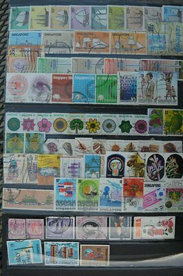 Asia Singapore Stamps Collection #2 (C022Singapore)
