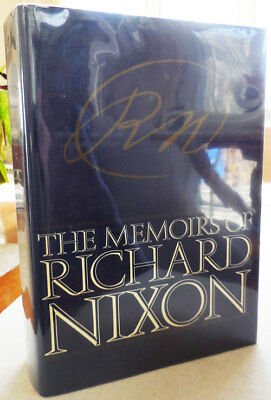 Memoirs of Richard Nixon Inscribed Illustrated Presidents 1978 1st ed Signed