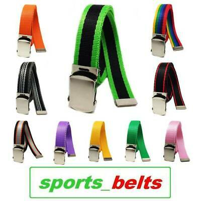 NEW Kids Webbing Belt 1-3yrs 60cm Tape Children Toddler Boys Girls Child Made UK