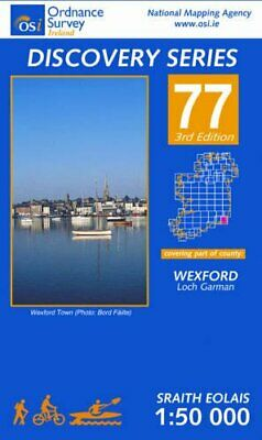 Wexford (Irish Discovery Maps Serie... by Ordnance Survey Irel Sheet map, folded