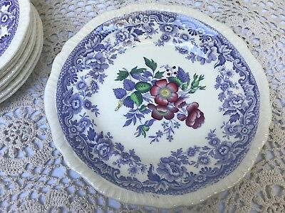 "One Mie Spode Copeland Mayflower Bread Dessert Plate Dish 6 1/2"" (7 Available)"