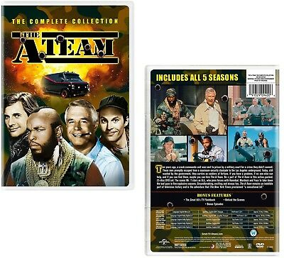 THE A-TEAM 1-5 1983-1987: COMPLETE Action TV Seasons Series - NEW US Rg1 DVD Set