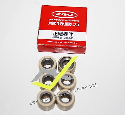 PGO G-MAX 150 (for WATER COOLED ENGINE) CVT ROLLER WEIGHTS
