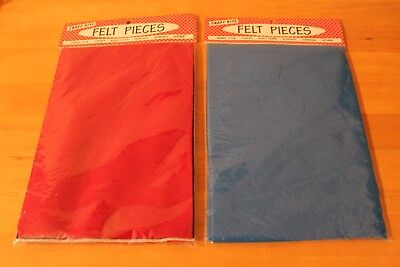 Felt Pieces - ideal for craft, sewing, school, crafts etc