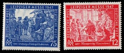 Germany. Joint Allied Occupation Zone. 1947 Leipzig Autumn Fair. MNH