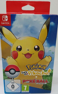 Pokemon Lets Go Pikachu! inkl Pokeball-Plus - Nintendo Switch - NEU & OVP